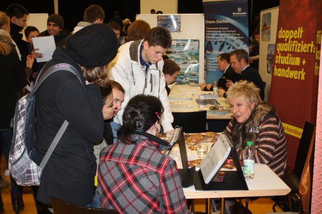 Berufsinfomesse am Goethe-Gymnasium