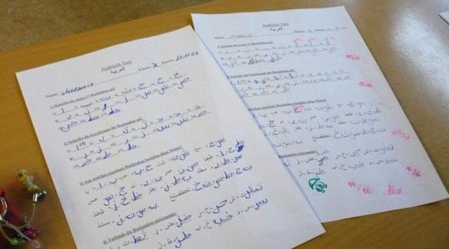 Ein Arabischtest