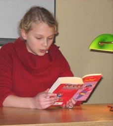 Schulsiegerin Johanna