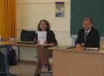 Olaf Scholz besucht das Goethe-Gymnasium