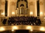Chor und Orchester des Goethe-Gymnasiums im Wahrzeichen Hamburgs