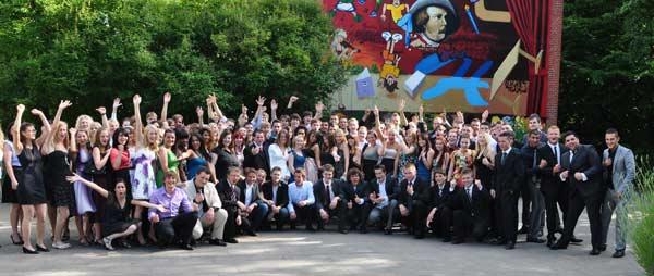Doppeljahrgang an Goethe-Gymnasium