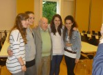 Lebendige Geschichte am Goethe-Gymnasium: Sally Perel im Gespräch