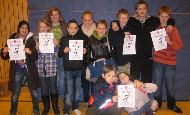 Stolze Goethe-SchülerInnen