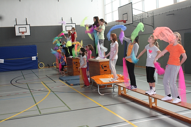 Zirkuskünste  in der Ganztagsschule