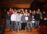 Erfolgreiche Luruper SchülerInnen im Rathaus geehrt