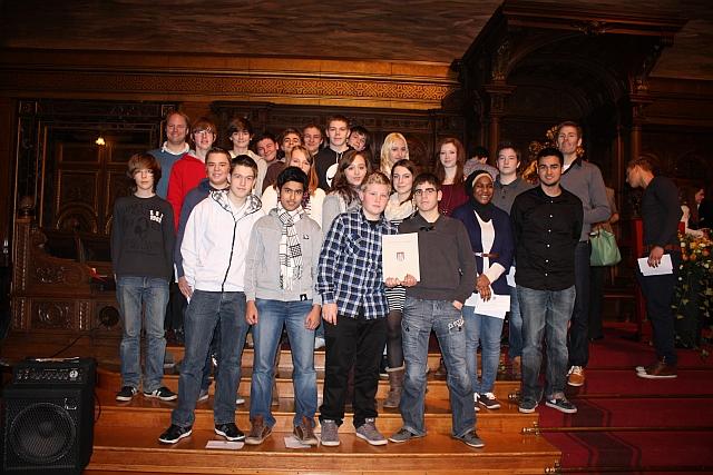 Auszeichnung des Informatikkurses für das Projekt View The Google Street