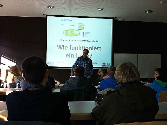 Dr. Thomas Garl, der Koordinator von unserem Kooperationspartner