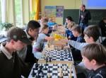 Schachvergleichsmatch gegen das Lise-Meitner-Gymnasium mit 27-8 gewonnen