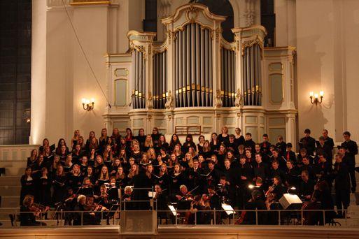 Der Große Chor im Hamburger Michel