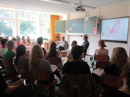 Europaabgeordneter besucht Goethe