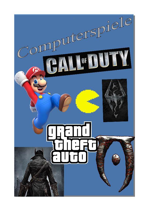 Titelbild Computerspielebrochure
