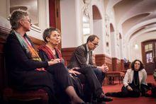 Gespräch mit Maria J. Pires und Musikern der Deutschen Kammerphilharmonie Bremen