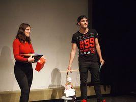 Der dritte und beste Theater-Slam am Goethe ... und das Triple für Herrn Zuber-Goos