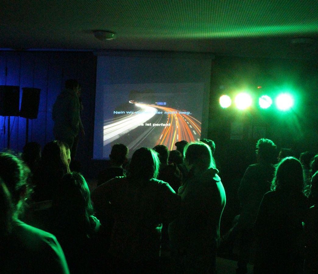 Helene Fischer als Karaoke