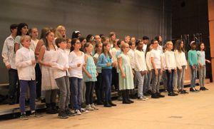 Unterstufenchor des Goethe-Gymnasiums ausgezeichnet