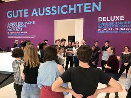"""Besuch der Kunstausstellung """"Gute Aussichten"""" in den Deichtorhallen"""