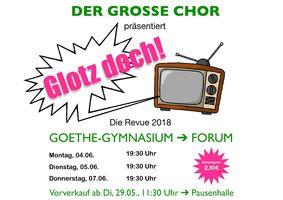 GLOTZ DOCH! Musikalische Revue des Großen Chores