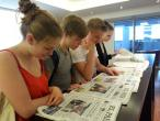 Auf dem Weg zum Spanisch-Diplom: Goethe Schüler am Instituto Cervantes