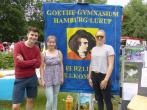 Das Goethe auf dem Luruper Stadtteilfest