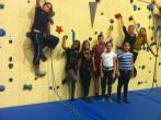 13. Teamwettkampf 2015 – Klettern im Toprope
