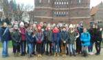 Die Klasse 8d besucht Frau Simon in Lübeck