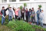 NaWi-Forscher- und Gartenclub fährt reiche Ernte ein!