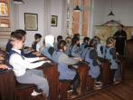 Die Klasse 9c besucht das Schulmuseum