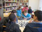Schachmatt in der Bibliothek