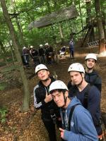 Klettern in Bäumen im Hamburger Norden