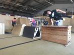 Sportlicher Besuch im Oberhafenquartier