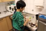 Junge Kochprofis am Werk
