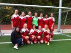 Hamburger Meisterschaften im Fußball der Mädchen am 1.10.2014 in Harburg